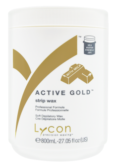 Active Gold strips Wax 800ml Lycon