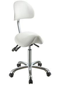 Ergo - Sadelsete stol m / rygg