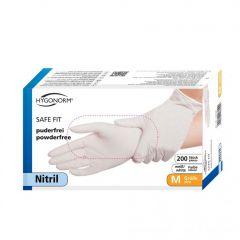 Maxipakke HygoNorm nitril MEDIUM safefit 200stk (dobbelt så mange)