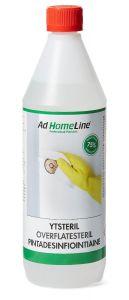 Overflate desinfeksjon 1 liter /4 liter
